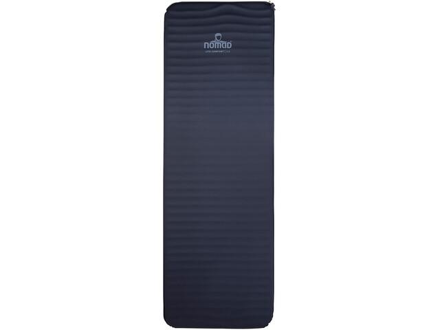 Nomad Lite Comfort 5.0 Colchoneta Autoinflable, black/dark grey